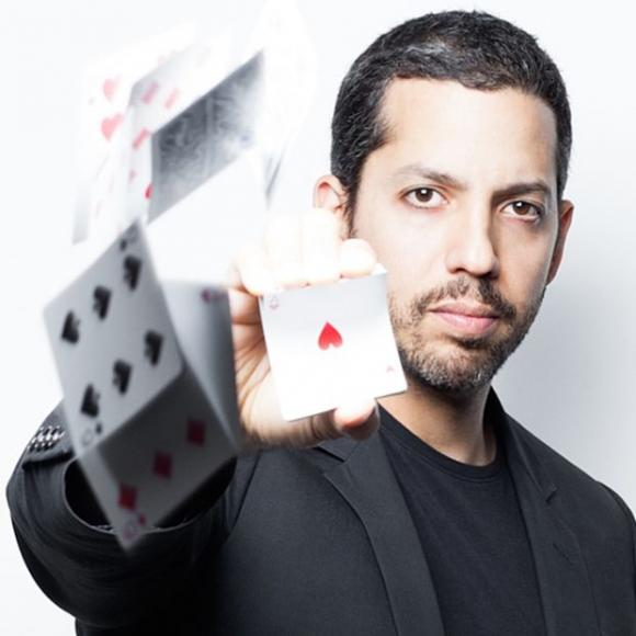 David Blaine at Murat Theatre