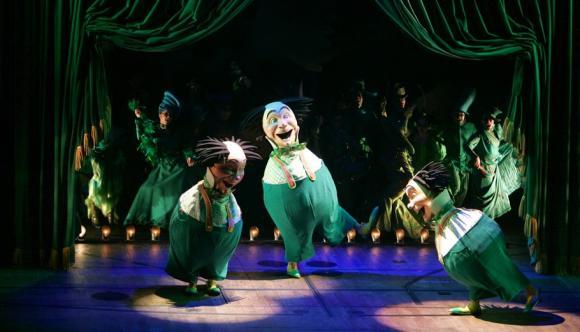 Wicked at Murat Theatre