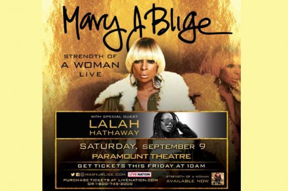 Mary J. Blige & Lalah Hathaway at Murat Theatre