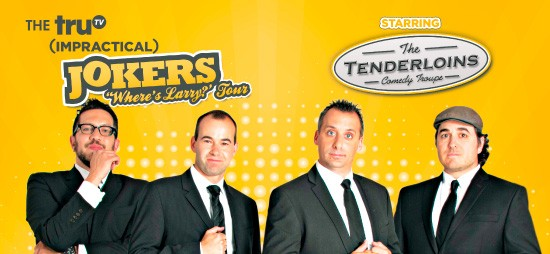 Cast of Impractical Jokers & The Tenderloins at Murat Theatre