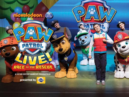 Paw Patrol Live at Murat Theatre