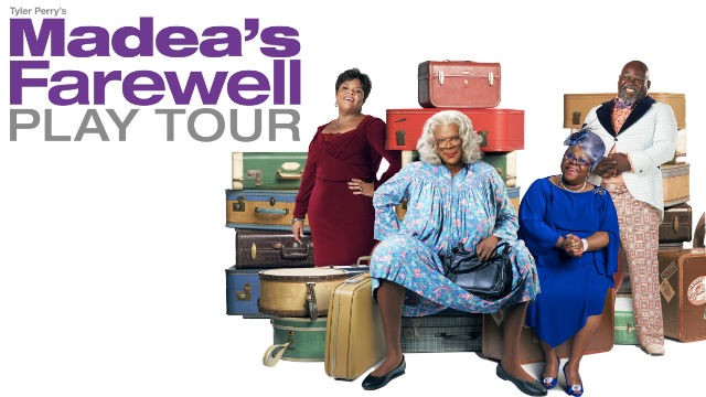 Tyler Perry's Madea's Farewell Play at Murat Theatre