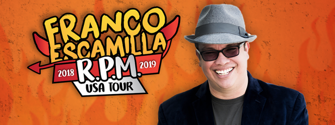 Franco Escamilla at Murat Theatre