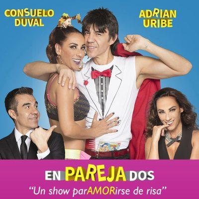 EnParejaDos: Adrian Uribe & Consuelo Duval at Murat Theatre