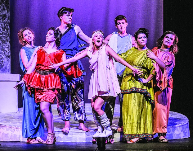 Xanadu at Murat Theatre