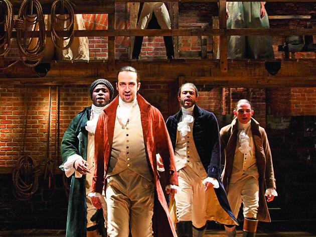 Hamilton at Murat Theatre