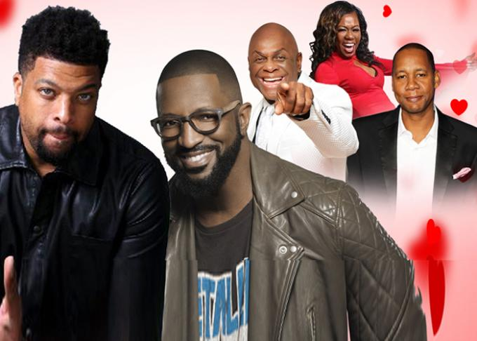 Laugh-a-thon: Rickey Smiley at Murat Theatre