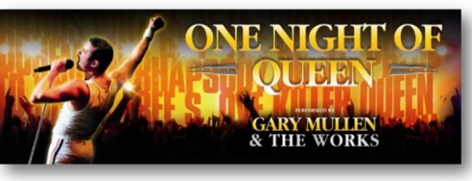 One Night Of Queen - Gary Mullen and The Works at Murat Theatre
