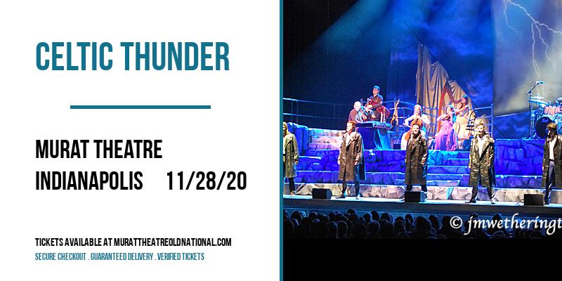Celtic Thunder [POSTPONED] at Murat Theatre