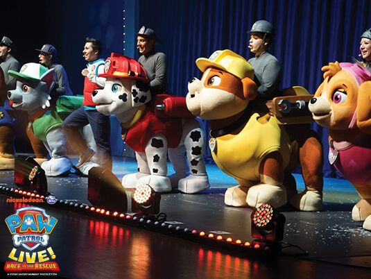 Paw Patrol Live at Murat Theatre