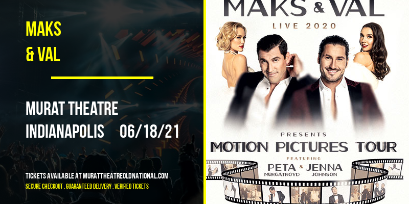 Maks & Val [CANCELLED] at Murat Theatre
