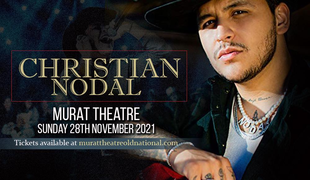 Christian Nodal at Murat Theatre
