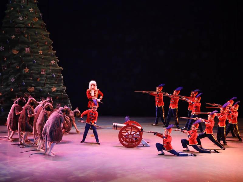 Indianapolis Ballet: The Nutcracker at Murat Theatre