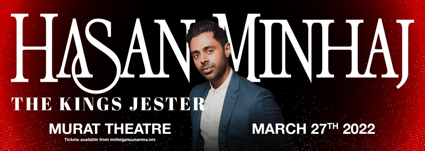 Hasan Minhaj: The Kings Jester at Murat Theatre